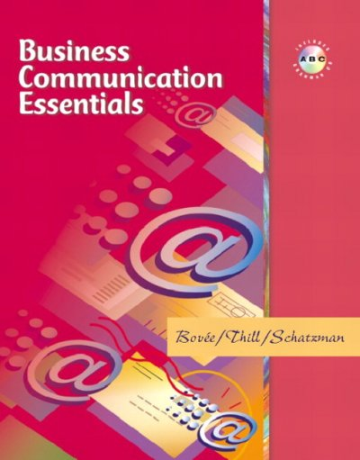 Business Communication Essentials cover