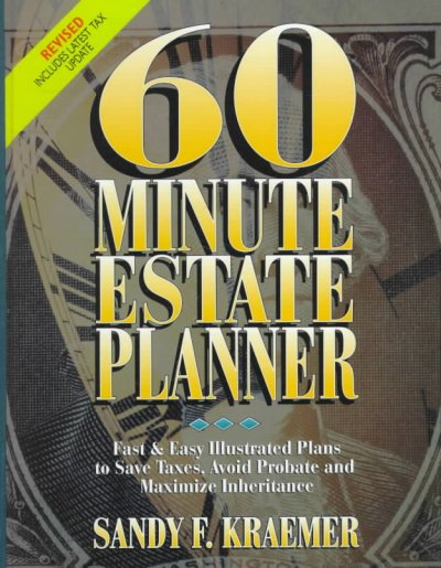 60 Minute Estate Planner cover