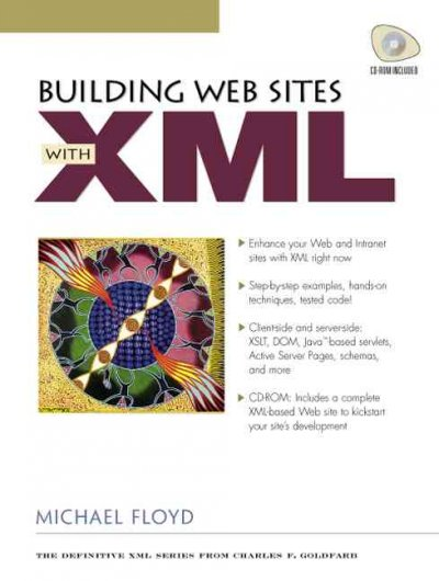 Building Web Sites with XML cover