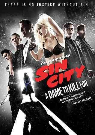 Frank Miller's Sin City: A Dame to Kill For DVD cover