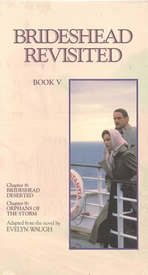 Brideshead Revisited, Book 5 [VHS] cover
