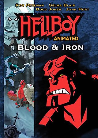 Hellboy: Blood and Iron (Animated) cover