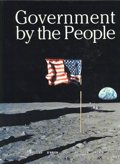 Government By the People, National Version (22nd Edition)