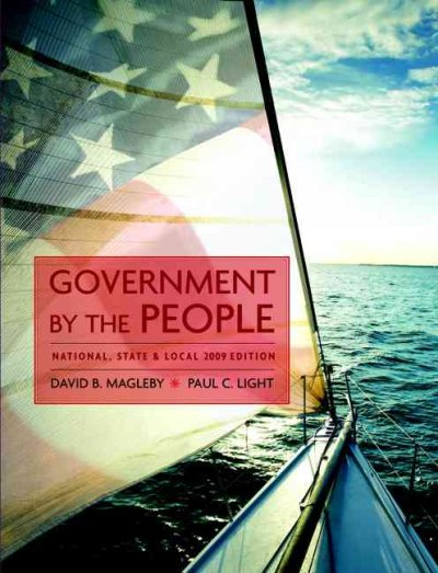 Government by the People, National, State, and Local, 2009  Edition (23rd Edition)