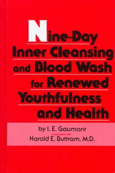 Nine-Day Inner Cleansing and Blood Wash for Renewed Youthfulness and Health cover