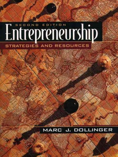 Entrepreneurship: Strategies and Resources (2nd Edition) cover