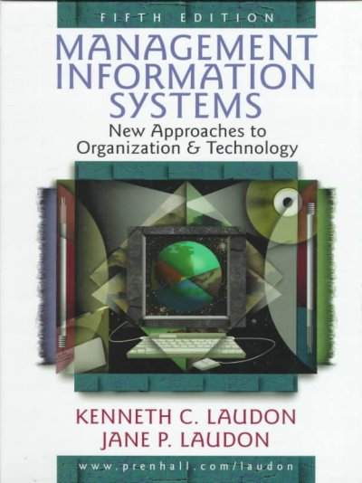 Management Information Systems: New Approaches to Organization and Technology cover