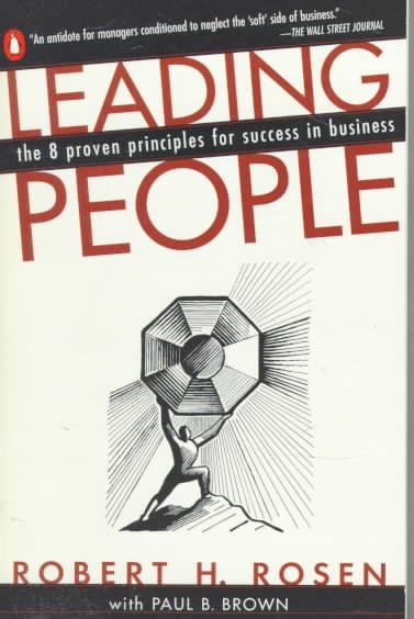 Leading People: The 8 Proven Principles for Success in Business cover