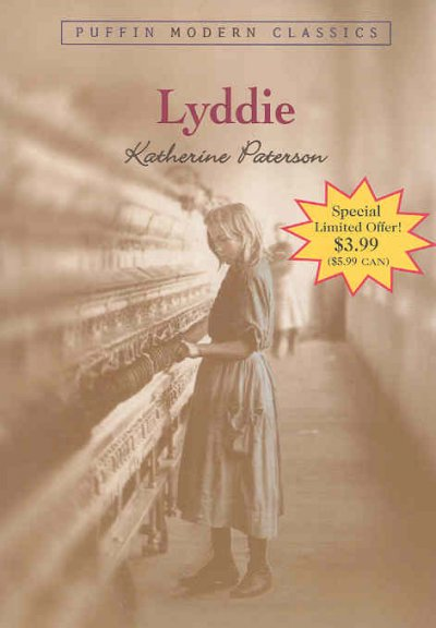 Lyddie PMC 3.99 Promo (Puffin Modern Classics) cover