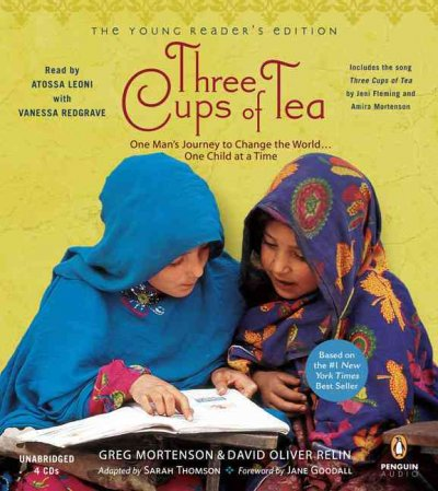 Three Cups of Tea: Young Readers Edition: Young Reader's Edition cover