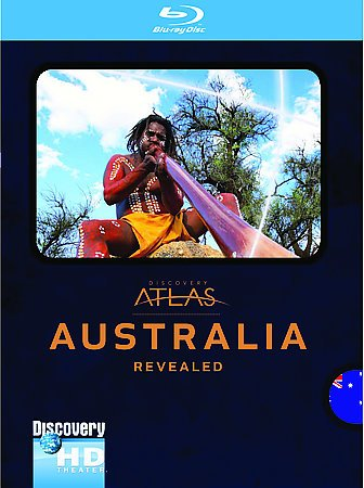 DISCOVERY ATLAS:AUSTRALIA REVEALED