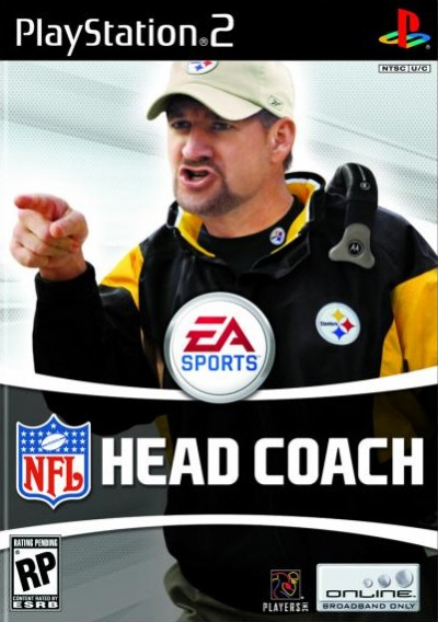 NFL Head Coach - PlayStation 2 cover
