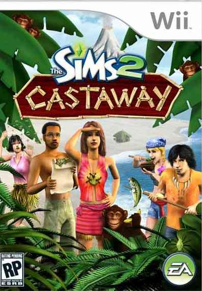 The Sims 2: Castaway - Nintendo Wii cover