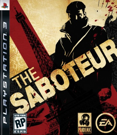 The Saboteur - Playstation 3 cover