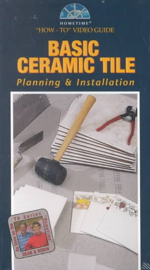 How to Video Guide: Basic Ceramic Tile Planning & Installation [VHS]