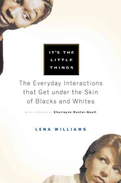 It's the Little Things: The Everyday Interactions That Get under the Skin of Blacks and Whites cover