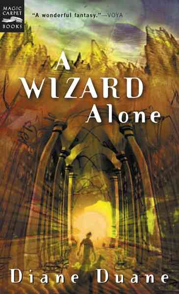 A Wizard Alone: The Sixth Book in the Young Wizards Series cover