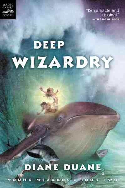 Deep Wizardry (The Young Wizards Series, Book 2) cover
