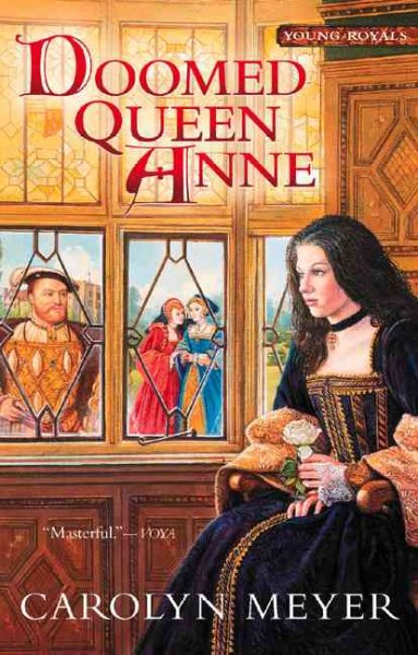 Doomed Queen Anne: A Young Royals Book (3) cover
