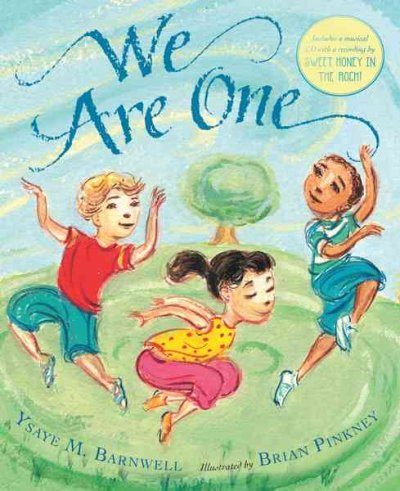 We Are One: Book and Musical CD cover