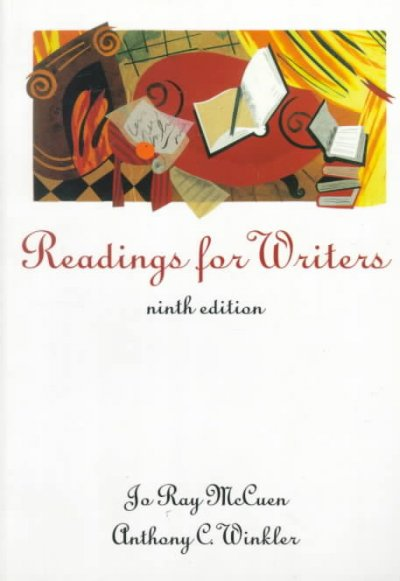 READINGS FOR WRITERS, 9E cover