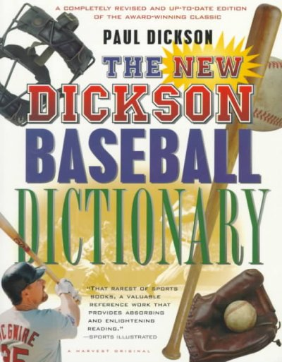 The New Dickson Baseball Dictionary cover