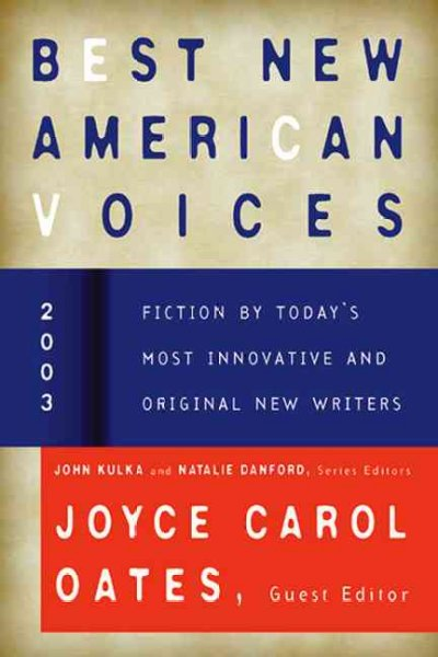 Best New American Voices 2003 cover