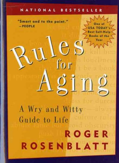 Rules for Aging: A Wry and Witty Guide to Life cover
