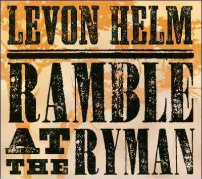 Ramble At The Ryman cover