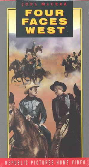 Four Faces West [VHS] cover