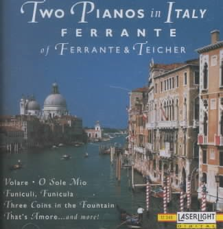 2 Pianos in Italy cover