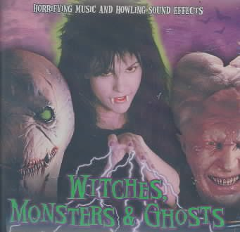 Witches Monsters & Ghosts cover