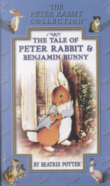 The Tale of Peter Rabbit and Benjamin Bunny by Beatrix Potter (The Peter Rabbit Collection) [VHS] cover