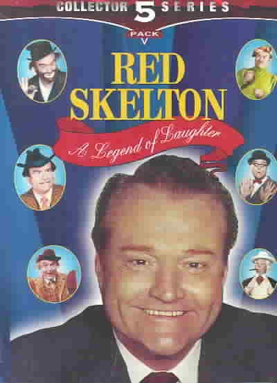 A Legend of Laughter with Red Skelton (5pc) [VHS] cover