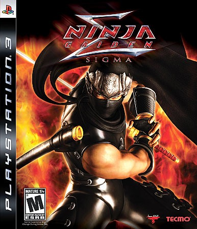 Ninja Gaiden Sigma - Playstation 3 cover