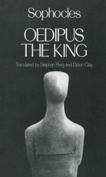 Oedipus the King (Greek Tragedy in New Translations) cover