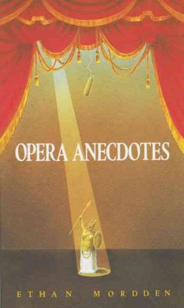 Opera Anecdotes (Oxford Paperbacks) cover