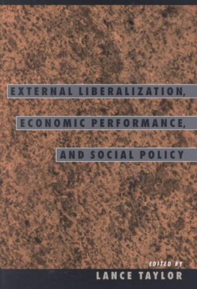 External Liberalization in Asia, Post-Socialist Europe, and Brazil cover