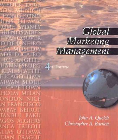 Global Marketing Management (4th Edition) cover