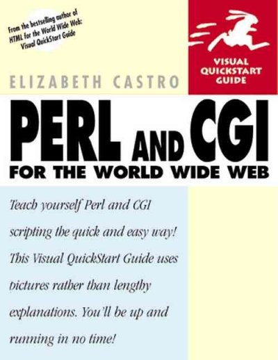 Perl and CGI for the World Wide Web (Visual QuickStart Guide) cover