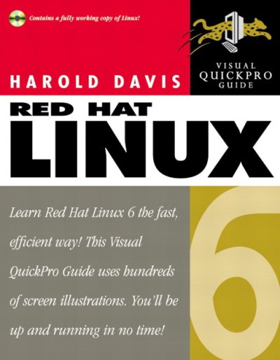 Red Hat Linux 6: Visual QuickPro Guide cover