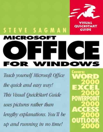 Microsoft Office 2000 for Windows (Visual QuickStart Guide) cover