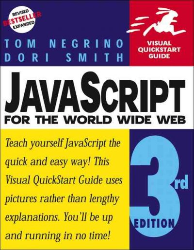 JavaScript for the World Wide Web, Third Edition (Visual QuickStart Guide) cover