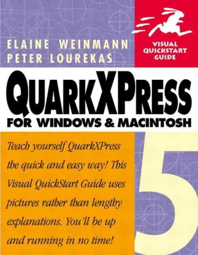 QuarkXPress 5 for Windows & Macintosh cover