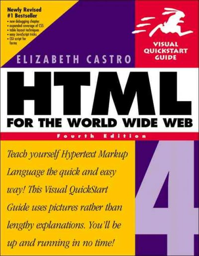HTML 4 for the World Wide Web, Fourth Edition cover