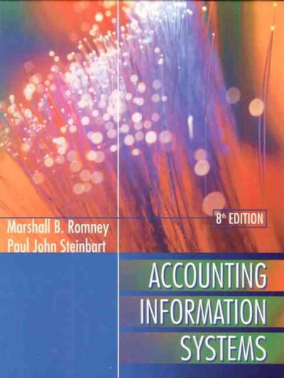 Accounting Information Systems cover