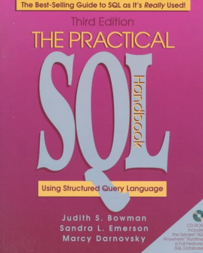 The Practical SQL Handbook: Using Structured Query Language (3rd Edition) cover