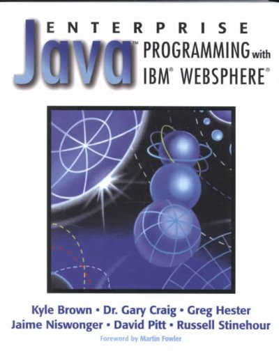 Enterprise Java Programming with IBM WebSphere cover