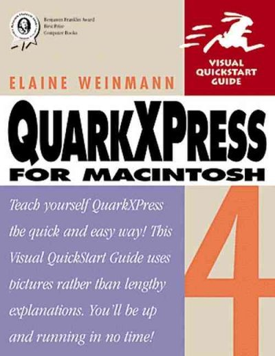 QuarkXPress 4 for Macintosh cover
