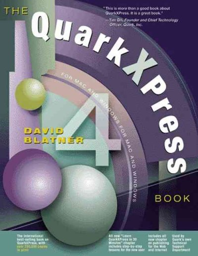 The QuarkXPress 4 Book cover